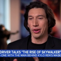 VIDEO: Adam Driver Talks About Playing the Villain in STAR WARS on GOOD MORNING AMERI Video