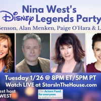 Alan Menken, Lea Salonga, Jodi Benson & Paige O'Hara to Join STARS IN THE HOUSE Episode Gu Photo