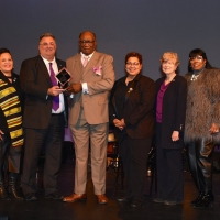 County Of Union Presents Award To Councilman And RAISIN: A MUSICALAt UCPAC Photo