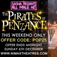 Sasha Regan Makes West End Theatre Accessible for All With £25 Tickets to THE PIRATE Photo