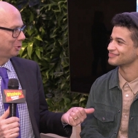 BWW TV: Hangin' with Broadway's New Evan Hansen, Jordan Fisher! Photo