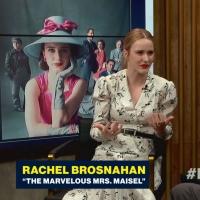 VIDEO: Rachel Brosnahan Talks About Her Love of Wrestling on GOOD MORNING AMERICA Video