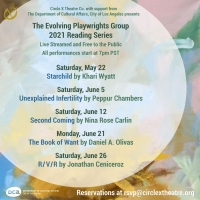 Circle X Theatre Co. Presents 2021 Evolving Playwrights Group Virtual Reading Series Photo