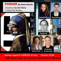 THE JOCUNDA FESTIVAL Presents Virtual Play Reading of Simon Bowler's FORGER Photo