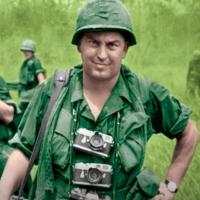 Peter Arnett Talks DATELINE-SAIGON, Saddam Hussein & Osama bin Laden On Tom Needham's Photo