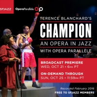 SFJAZZ And Opera Parallèle Present Exclusive On-Demand Broadcast Of CHAMPION - AN OP Photo