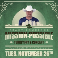 Tracy Lawrence Sets Date for Annual 'Mission:Possible Turkey Fry & Concert'
