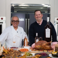 Chef Wolfgang Puck And Sommelier Jon McDaniel Host THANKSGIVING AND ROSE: A PERFECT P Photo