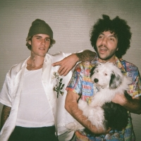 Justin Bieber and benny blanco Debut 'Lonely' Photo