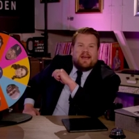 VIDEO: James Corden 'Checks In' On Michael Buble, Whitney Cummings Photo
