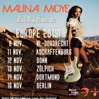 Malina Moye Launches Tour To Support New Album