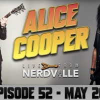 Alice Cooper Interviewed by Joe Bonamassa on 'Live From Nerdville' Photo