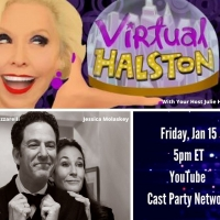 BWW Previews: John and Jessica and Julie Make January 15th VIRTUAL HALSTON Just Right Photo