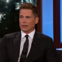 VIDEO: Watch Rob Lowe Talks About Being Friends With Arnold Schwarzenegger on JIMMY K Video