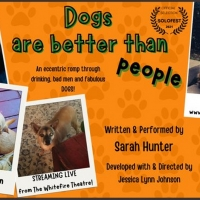 BWW Interview: Playwright and Actor Sarah Hunter on Why DOGS ARE BETTER THAN PEOPLE