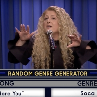 VIDEO: Meghan Trainor Plays Musical Genre Challenge on THE TONIGHT SHOW WITH JIMMY FALLON