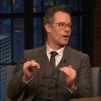 VIDEO: Guy Pearce Says Kids Shouldn't Watch Dark CHRISTMAS CAROL on LATE NIGHT WITH S Photo