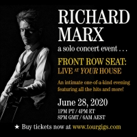 Richard Marx Announces His First Ever Virtual Solo Concert Photo