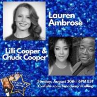 Chuck Cooper, Lauren Ambrose, and Lilli Cooper Join Host Lance Roberts For A Mini Reu Photo
