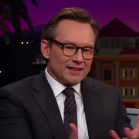 VIDEO: Christian Slater Talks How Parenting Has Changed for Him on THE LATE LATE SHOW Video