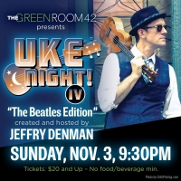 Jeffry Denman Hosts Benefit Concert UKE NIGHT IV - THE BEATLES EDITION Photo