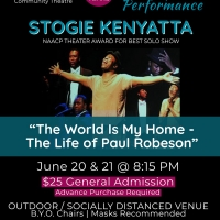 Footlights Presents 'The World is My Home - The Life of Paul Robeson' Photo