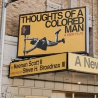 Photo Flash: The THOUGHTS OF A COLORED MAN Marquee Goes Up at the Golden Theatre Photo