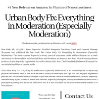 Producer Larry Rogowsky Releases New Book THE URBAN BODY FIX: EVERYTHING IN MODERATION Photo