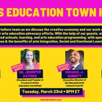 Be An #ArtsHero to Hold Arts Education Town Hall Photo