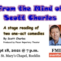 Placer Rep Shares Two One-Act Comedies from the Mind of Scott Charles Photo