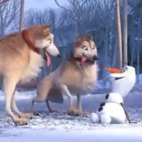 VIDEO: Check Out the New Olaf Digital Short 'Doggies' Featuring Josh Gad Photo