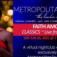 BWW Review: FAITH AMOUR Spreading Joy with Jazz Classics at MetropolitanZoom Photo