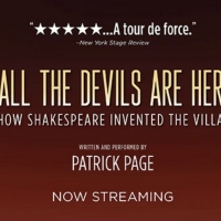 Stream Tony Award Nominee Patrick Page's ALL THE DEVILS ARE HERE Article