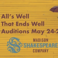 Auditions For Madison Shakespeare Company's ALL'S WELL THAT ENDS WELL to Take Place M Photo
