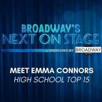 Meet the Next on Stage Top 15 Contestants - Emma Connors
