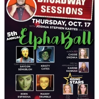 Espinosa, Sengbloh And More Celebrate ElphaBall At BROADWAY SESSIONS