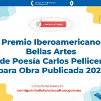 Abren Convocatoria Para El Premio Iberoamericano Bellas Artes De Poesía Carlos Pellicer Pa Photo