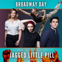 """Student Blog: """"You Oughta Know"""" About Broadway Workshop's JAGGED LITTLE PILL Day Photo"""