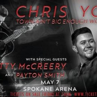 Chris Young, Scotty Mccreery, And Payton Smith Come To The Spokane Arena Photo
