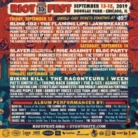 Riot Fest Announces 2019 Daily Lineup