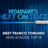 Meet the Next on Stage Top 15 Contestants - Franco Tomaino