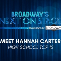 Meet the Next on Stage Top 15 Contestants - Hannah Carter Photo