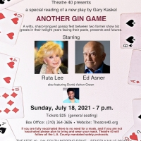 Ed Asner And Ruta Lee to Star in ANOTHER GIN GAME at Theatre 40 in July Photo