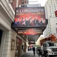 "Neil Simon Theatre Box Office Is Opening Today For THE ILLUSIONISTS �"" MAGIC OF THE HOLIDAYS"