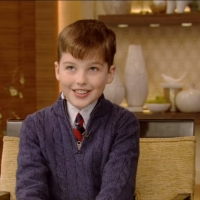 VIDEO: Watch Iain Armitage Talk About His New Pet Hamster on LIVE WITH KELLY AND RYAN