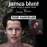 James Blunt with Jason Mraz Australia & New Zealand Tour Cancelled