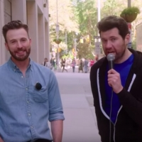 VIDEO: BILLY ON THE STREET Takes to The Streets With Chris Evans!