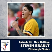 MLB Pitcher Steven Brault Makes 'A Pitch At Broadway' On The Break A Bat! Podcast