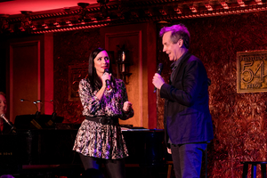 Photo Flash: Theatre Couples Team Up For A Broadway Valentine's Day At Feinstein's/54 Photo