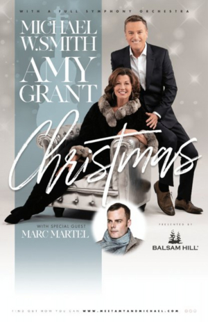Amy Grant, Michael W. Smith Reunite For Seven Christmas Performances Across U.S.